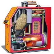 Interno caldaia biomassa
