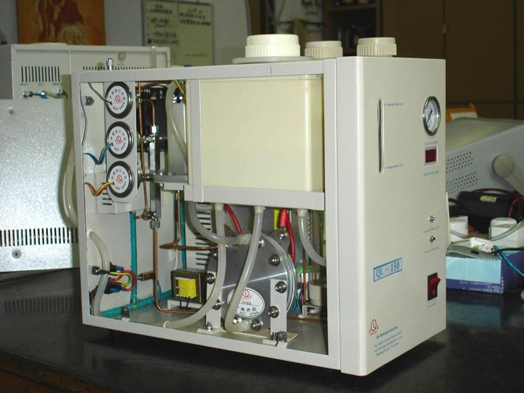 Caldaia a idrogeno a uso industriale