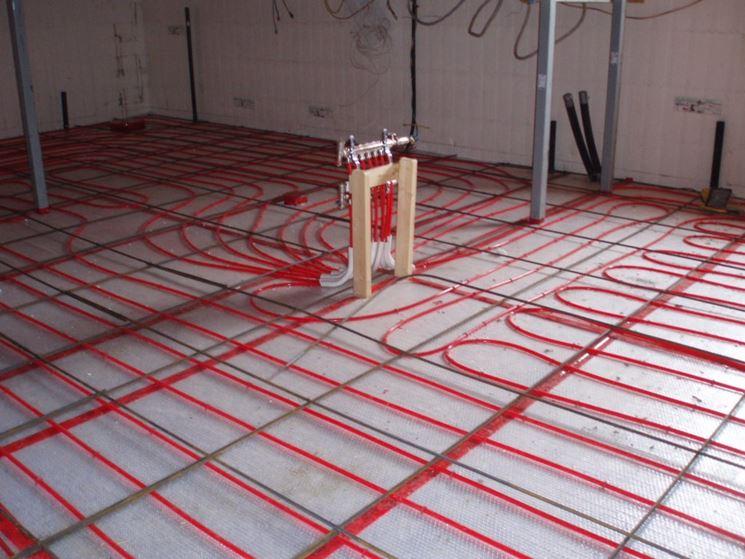 Riscaldamento radiante a pavimento