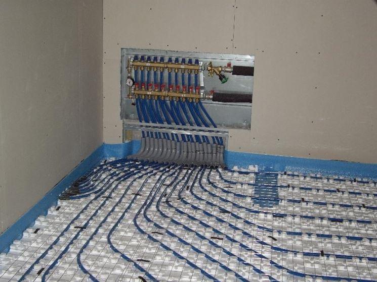Pannello Solare Con Riscaldamento A Pavimento : Sistemi di riscaldamento impianti