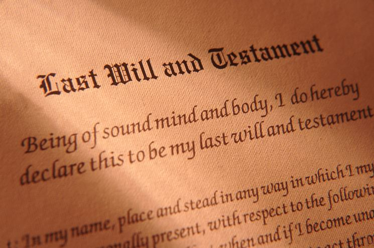 Testamento e ultime volontà