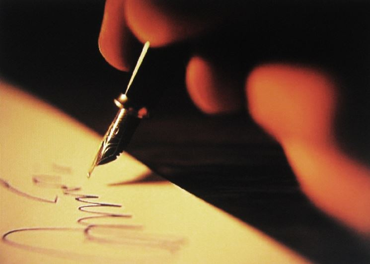 Firma di un testamento