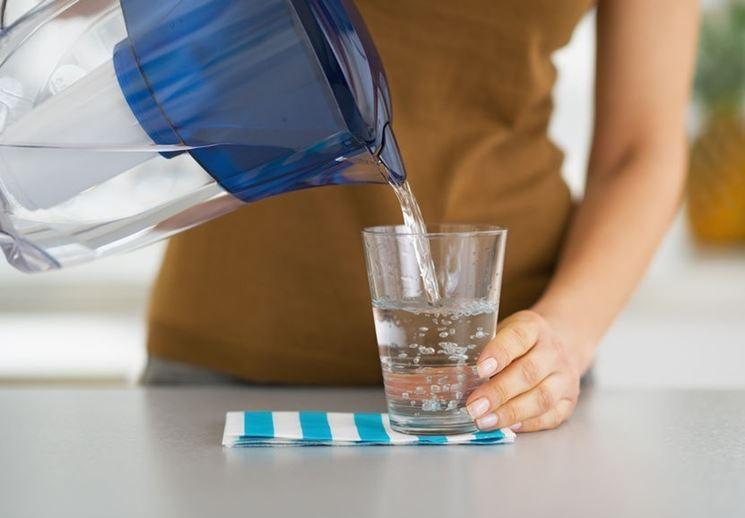 Caraffa acqua