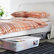 Scatole da riporre sotto al letto