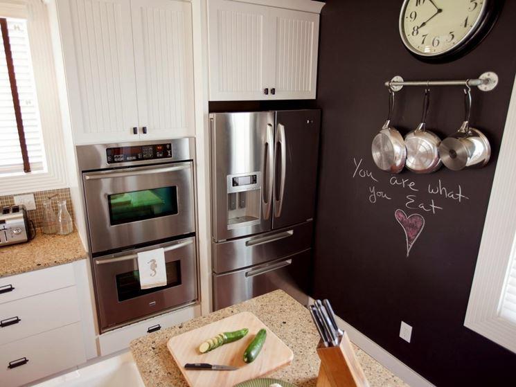 Parete Di Lavagna In Cucina : Metti una lavagna in cucina ambiente cucina
