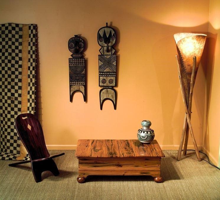 Salotto decorato