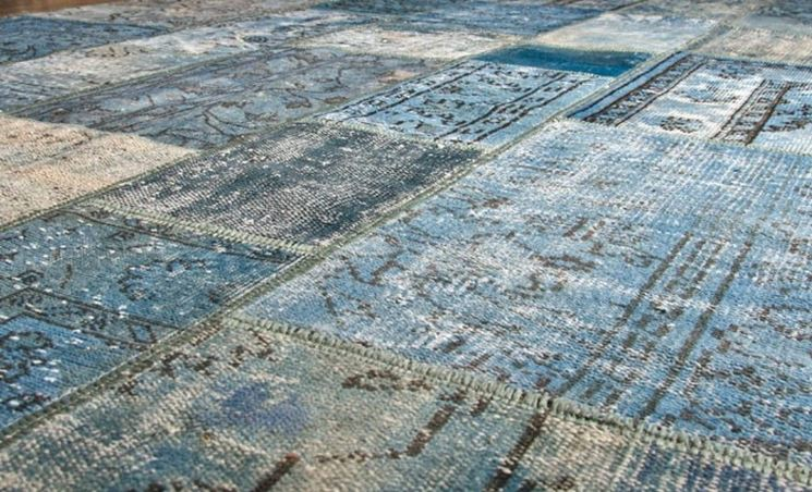 particolare tappeto pregiato