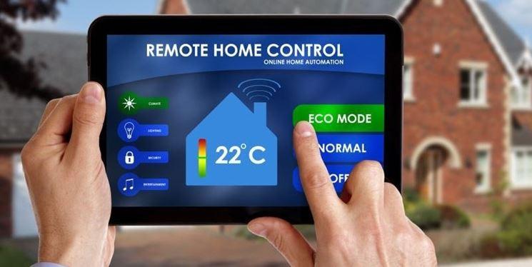 Controllo casa domotica