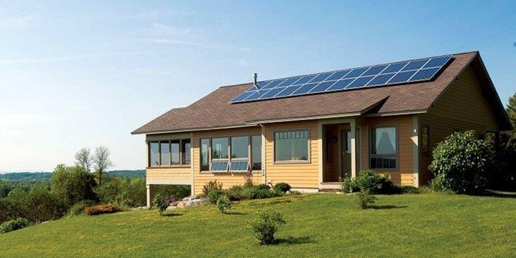 Esempio impianto fotovoltaico