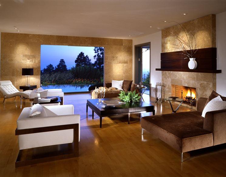 Progetto di ristrutturazione di un soggiorno