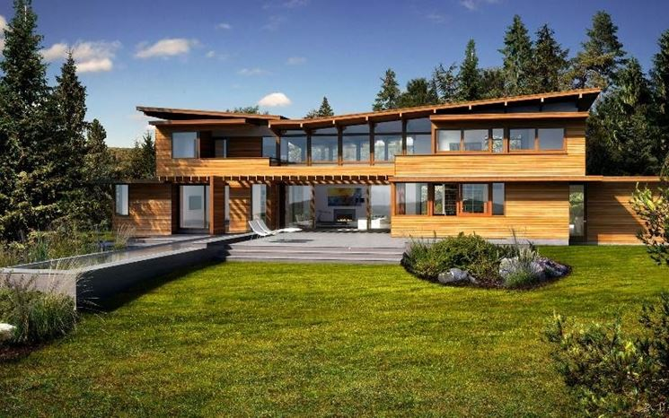 Una casa ecologica