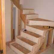 Struttura di una scala in legno