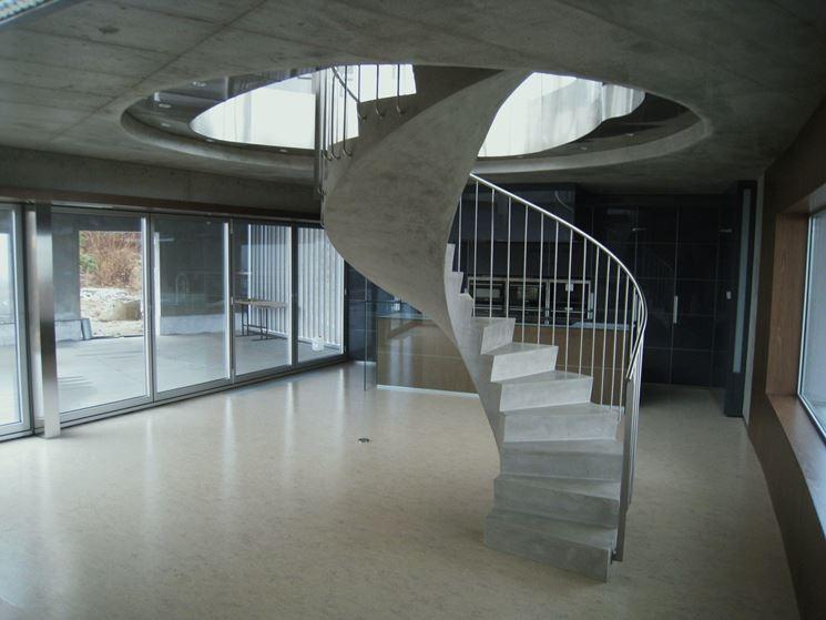 Scale in cemento armato scale interne modelli scale - Scale a chiocciola in cemento prefabbricate ...