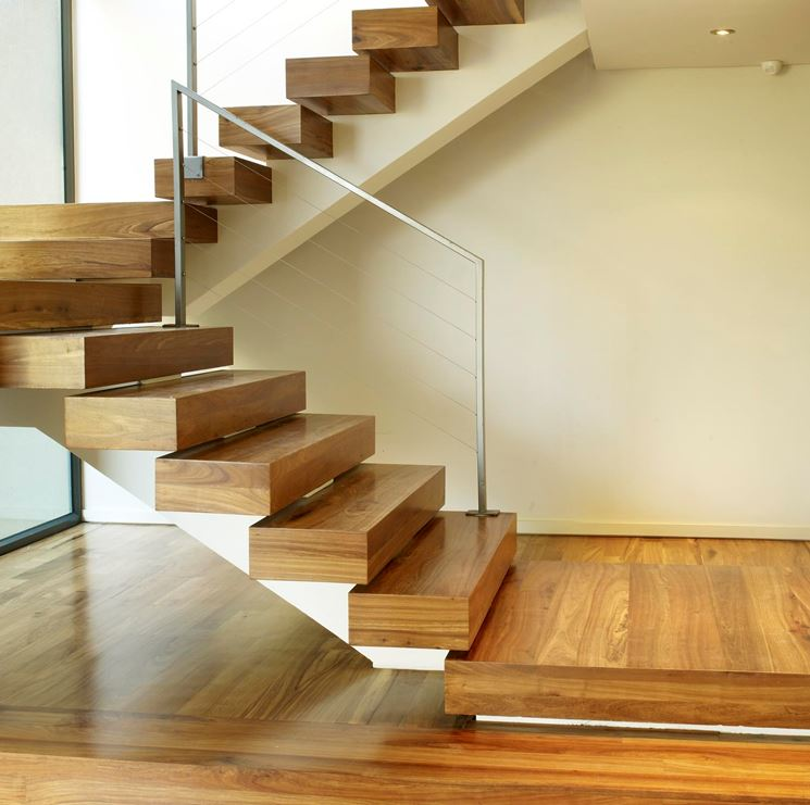 Scale in legno scale interne tipologie scale in legno - Scale interne in muratura moderne ...