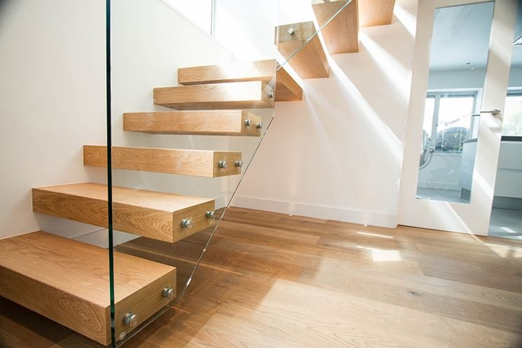 Scale in legno scale interne tipologie scale in legno - Scale rivestite in legno per interni ...