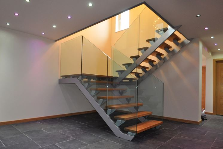 Scale per interni scale interne tipi di scale interne - Scale in legno interne ...