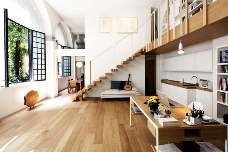 Scale per mansarda in legno