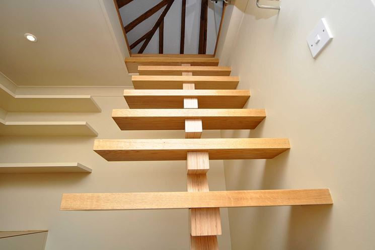 Scale per soppalco scale interne scale per il soppalco - Soppalco in legno autoportante ...