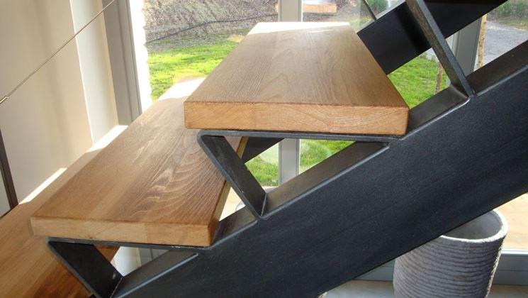 Scalini in legno scale interne installare scalini in legno - Misure scale interne ...