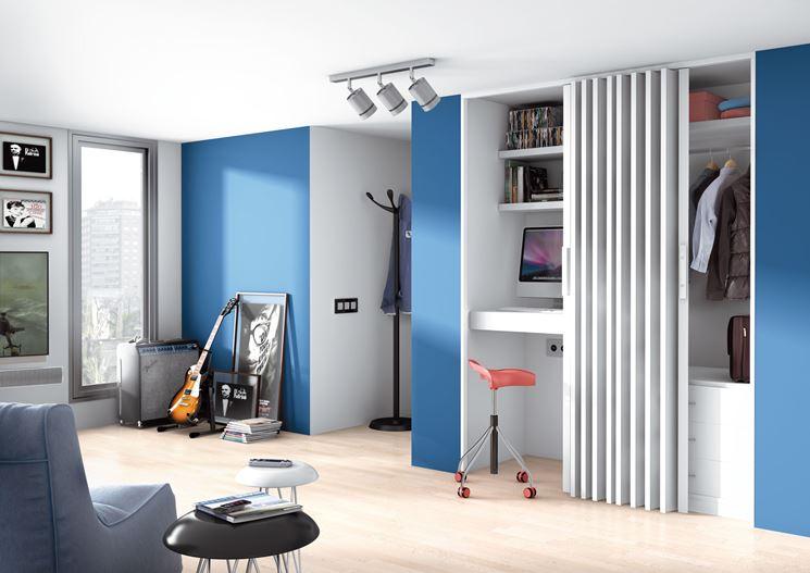 Porte a soffietto serramenti installare porta a soffietto for Precio de puertas plegables