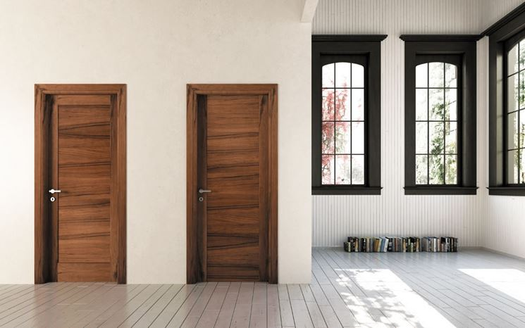 Porte in legno massello serramenti caratteristiche delle porte in legno massiccio - Porte in legno usate ...