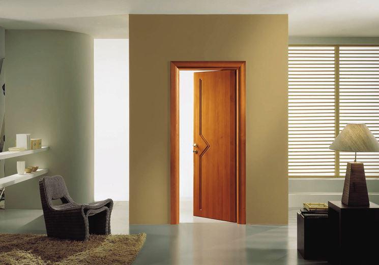 Porte in legno massello   serramenti   caratteristiche delle porte ...