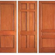 Porte in legno massiccio