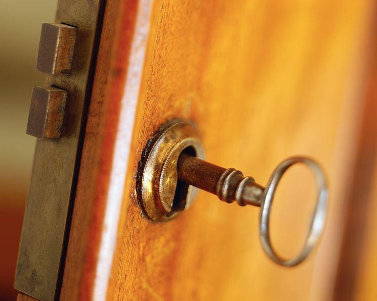 chiave per porta