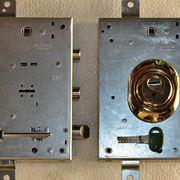 Due modelli di serratura a doppia mappa