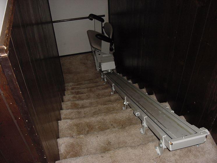 Elevatore disabili