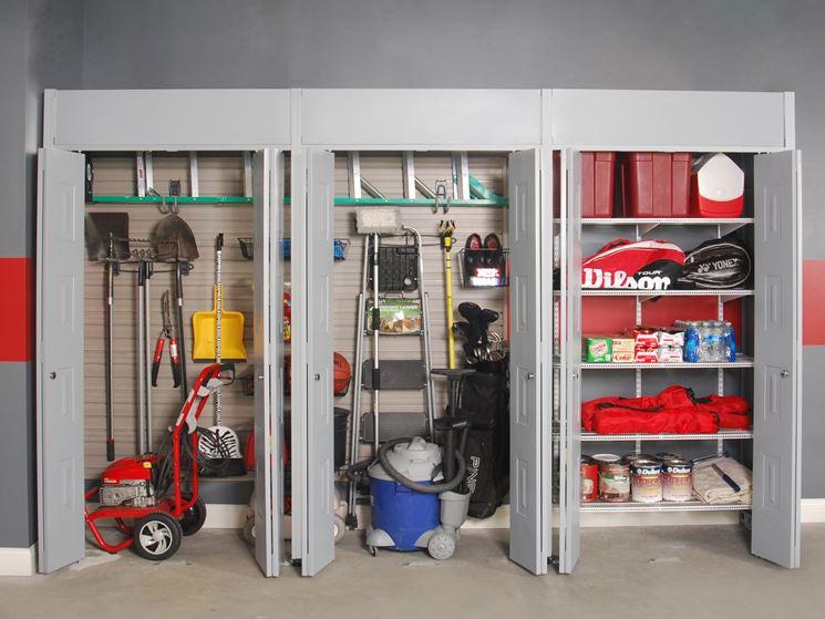 Scaffali e mensole per il garage