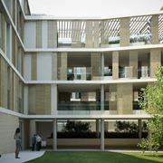 Moderne case a corte