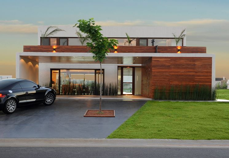 Casa unifamiliare moderna