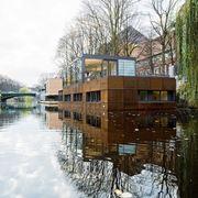 Esempio di casa galleggiante