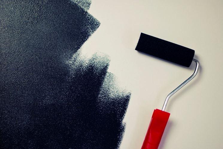 Fase di dipintura