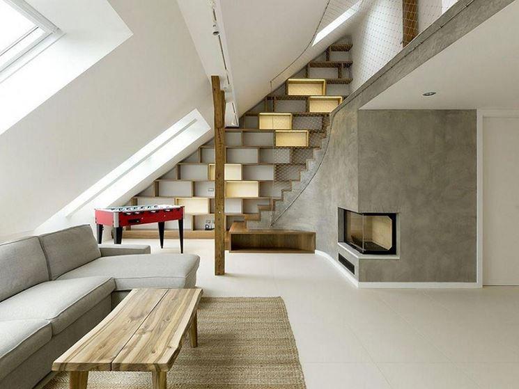 Esempio di loft moderno