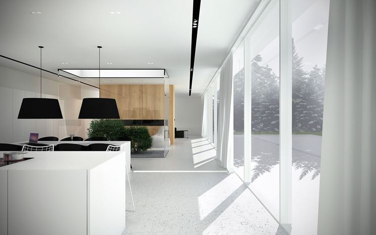 Cucina in stile minimalista