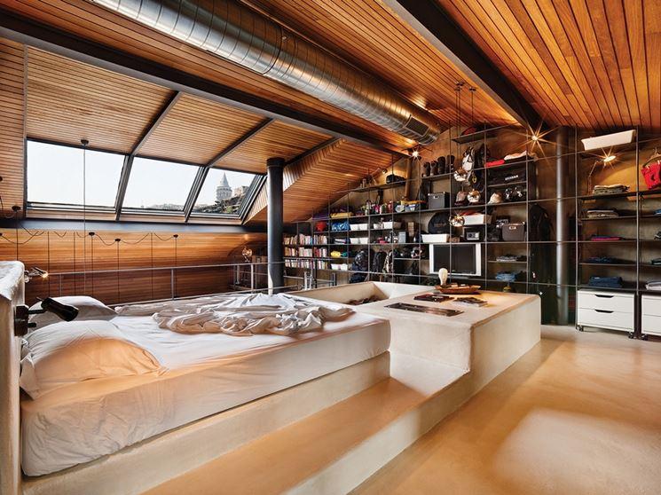 Mansarde in legno sistemare casa realizzare mansarde for Mansarda in legno bianco