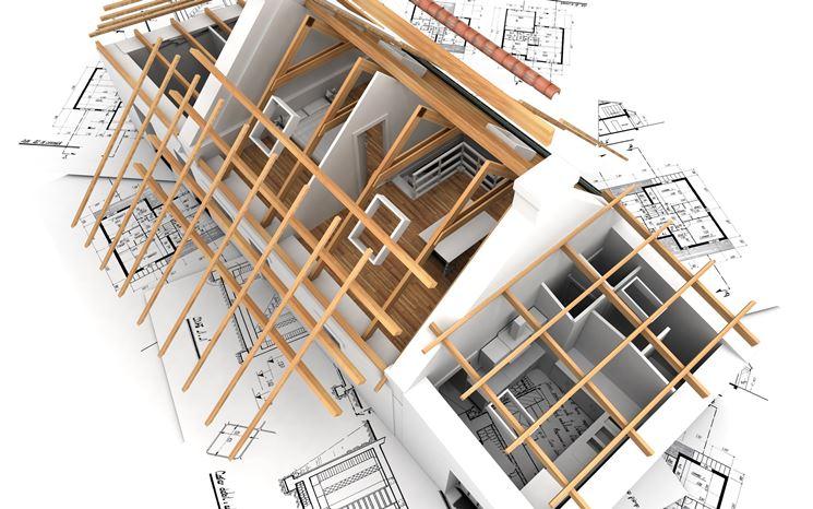 Progetto di casa in 3D