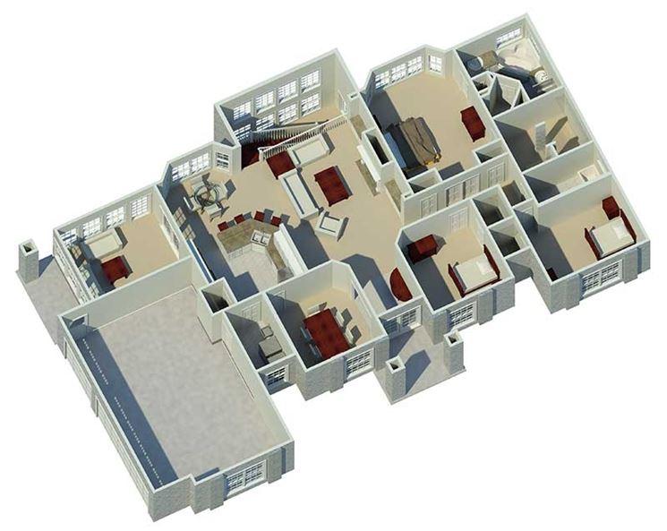 Progettazione tridimensionale di casa