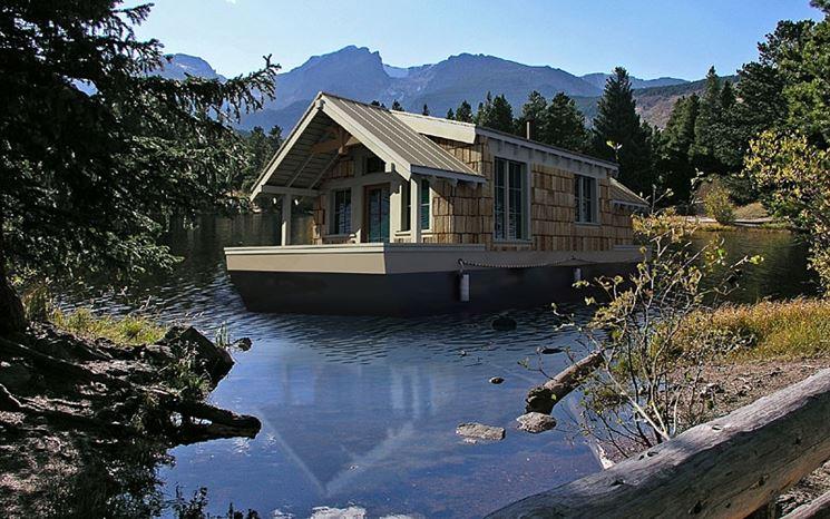 Casa immersa nella natura