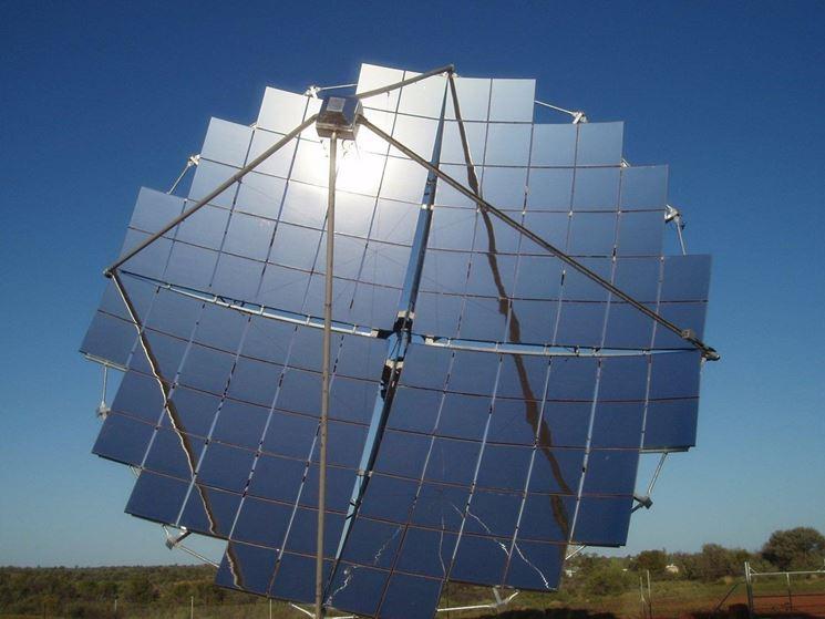 Modulo fotovoltaico a concentrazione