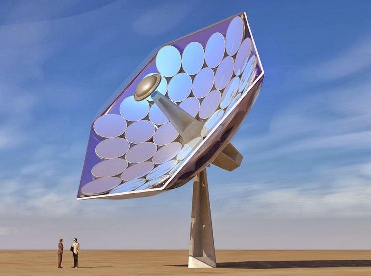 sistema fotovoltaico a concentrazione