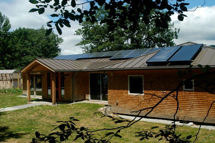 Edificio a risparmio energetico