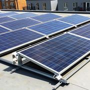 Tetto fotovoltaico di un appartamento