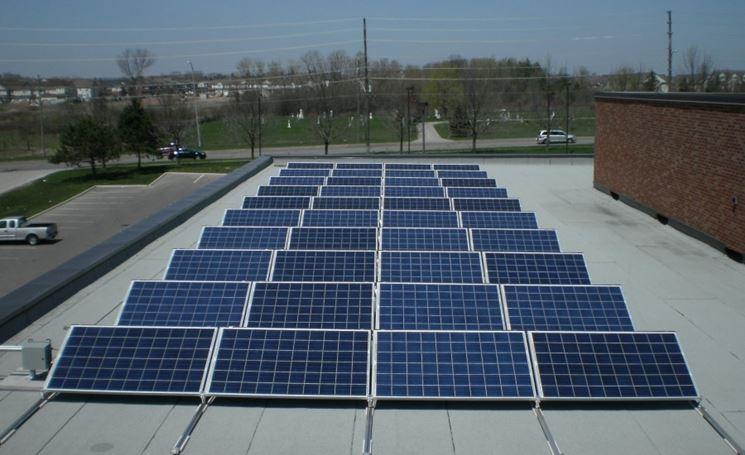 Fotovoltaico su edificio condominiale