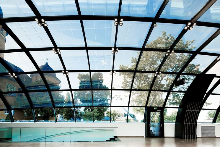 Fotovoltaico integrato trasparente