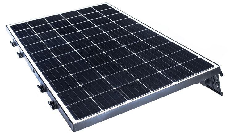 Un modulo fotovoltaico visto da vicino