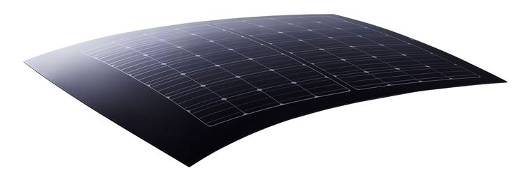 Modulo fotovoltaico flesso