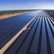 Immenso impianto fotovoltaico